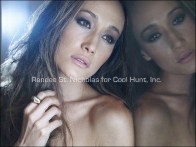 Maggie Q Sexy: Fashion Shoot and Interview
