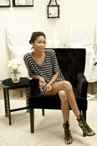 Chanel Iman Interview and Portrait Photos