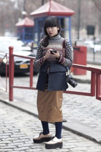 FW12 Fashion Week Street Style – The London Look
