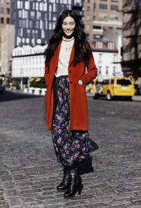 Street Style:  Top Chinese Models