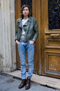 Denim Street Fashion (New York, Milan, Paris)
