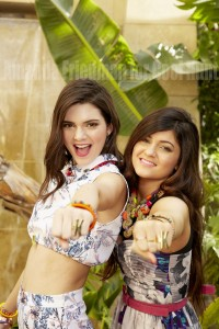 Kendall and Kylie Jenner fashion shoot